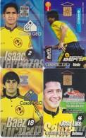 #11 - MEXICO-19 - 4 CARDS OF FOOTBALL - Mexico