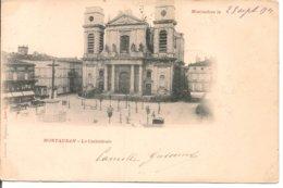 L120B_541 - Montauban - La Cathédrale - Carte Précurseur - Montauban