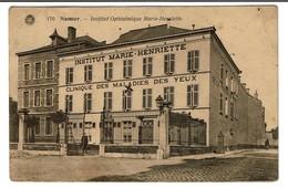 Namur - Institut Ophtalmique Marie-Henriette - Clinique Des Maladies Des Yeux - Circulée - 2 Scans - Namen