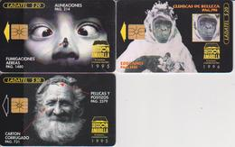 #11 - MEXICO-20 - 3 CARDS YELLOW PAGES - MONKEY - Mexico