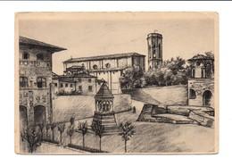 IL PALAZZO PRETORIO IL DUOMO  E L'ARCO ROSELLI - Arezzo