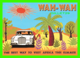 """AFFICHE DE CINÉMA - """" WAH-WAH """" FILM OF RICHARD E GRANT - GABRIEL BYRNE, EMILY WATSON, JULIE WALTERS - - Affiches Sur Carte"""
