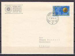 Football / Soccer / Fussball - WM 1954:  Schweiz  Beleg - Zürich - Fußball-Weltmeisterschaft