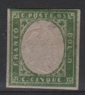 1861 5 C. MLH - Sardegna