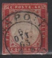 1861 40 C. US - Sardegna