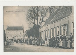 59 WARHEM LA RUE DE L EGLISE CPA BON ETAT - France