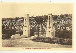 62 - LA TARGETTE / LE CIMETIERE MILITAIRE FRANCAIS - Frankrijk