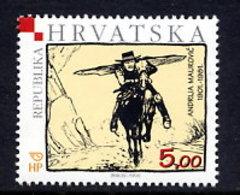 CROATIA 2001 Maurovic Centenary MNH / **.  Michel 566 - Croatie