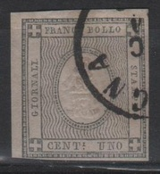 1861 Francobolli Per Stampati 1 C. US - Sardegna