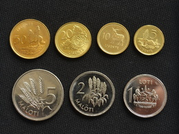 Lesotho 7 Coins Set. UNC - Lesotho
