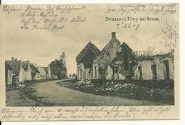 62 - TILLOY / CARTE POSTALE ALLEMANDE - France