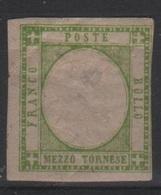 1861 Province Napoletane 1/2 T. MLH* - Napoli