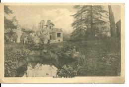 62 - RANSART / CARTE POSTALE ALLEMANDE DU CHATEAU - France