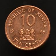 Kenya 10 Cents 1995. Km31. UNC Coin. - Kenia