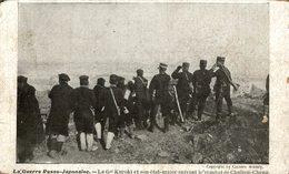 La Guerre Russo Japonaise - Le Général Kuroki Et Son état Major Suivant Le Combat De Chulien Cheng - Rusia