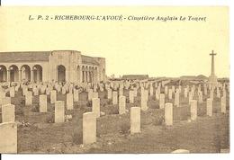 62 - RICHEBOURG L'AVOUE / CIMETIERE ANGLAIS LE TOURET - France