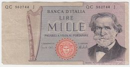 Italy P 101 D - 1000 1.000 Lire 5.8.1975 - Fine+ - [ 2] 1946-… : République