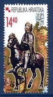 CROATIA 2001 Charlemagne Used Single Ex Block.  Michel 564 - Croatia