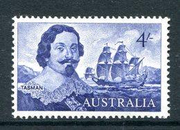 Australia 1963-65 Navigators - 4/- Tasman MNH (SG 355) - 1952-65 Elizabeth II : Pre-Decimals