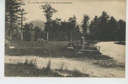 ORBEY - La Tête Des Faux Vue Du Col Du Bonhomme - Cachet Au Dos Du RESTAURANT GERARD - LAC NOIR - Orbey