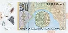 MACEDONIA 50 ДЕНАРИ (DENARI) 2018 P-new UNC [MK218a] - Macédoine