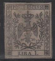 1852 1 L.  MLH - Modena