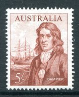 Australia 1963-65 Navigators - 5/- Dampier HM (SG 356) - 1952-65 Elizabeth II : Pre-Decimals