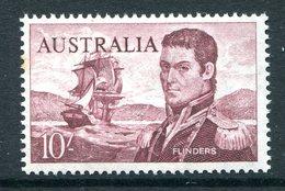 Australia 1963-65 Navigators - 10/- Flinders MNH (SG 358) - 1952-65 Elizabeth II : Pre-Decimals