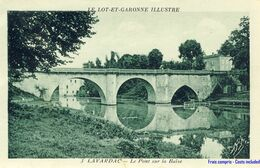 47 - Lavardac - Le Pont Sur La Baïse - Lavardac
