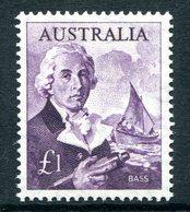 Australia 1963-65 Navigators - £1 Bass MNH (SG 359) - 1952-65 Elizabeth II : Pre-Decimals