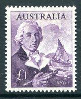 Australia 1963-65 Navigators - £1 Bass HM (SG 359) - 1952-65 Elizabeth II : Pre-Decimals