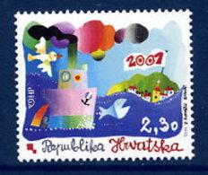 CROATIA 2001 New Millenium MNH / **.  Michel 563 - Croatie