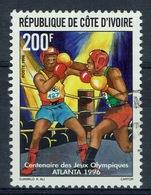 Ivory Coast, Summer Olympics, Atlanta (USA), Boxing, 1996, VFU - Ivory Coast (1960-...)