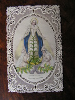 Holy Card Image Pieuse Canivet Couleur Mercereau Immaculée Conception Ref 18 - Images Religieuses