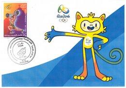 DZ Algeria 1747 Olympics Games Rio Brazil 2016 Sport Mascot - Summer 2016: Rio De Janeiro