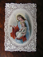 Holy Card Image Pieuse Canivet Couleur Edouard Neveu Ange Gardien Ref 19 - Images Religieuses
