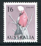 Australia 1964-65 Birds - 1/6 Galah MNH (SG 365) - 1952-65 Elizabeth II : Pre-Decimals