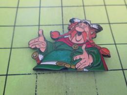 916c  Pin's Pins / Beau Et Rare : THEME : BD BANDE DESSINEE / ASTERIX CHEF DU VILLAGE ABRARACOURCIX - Comics