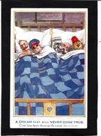 CPA Turquie Turkey Anti Kaiser Germany Satirique Caricature Circulé - Guerre 1914-18