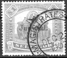 SELENGOR  Protectorat Britanique 1900 Yvert N° 20 Obl.  MAGISTRATES Dec. 1902 Surchargé JUDICIAL - Selangor