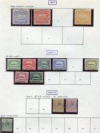13618 ILES SALOMON Collection Vendue Par Page  N° 1/2, 4, 8/11, 13/5, 21/3  °/ *    1907-13    B/TB - British Solomon Islands (...-1978)