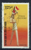 Ivory Coast, Yacouba Stilts, 1983, VFU - Ivory Coast (1960-...)