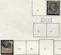 13612 SAINT-VINCENT Collection Vendue Par Page  N° 3, 13 °    1861-71    B - St.Vincent (...-1979)