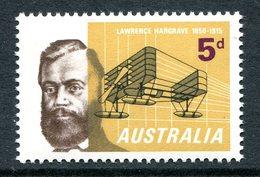 Australia 1965 50th Death Anniversary Of Lawrence Hargrave MNH (SG 379) - 1952-65 Elizabeth II : Pre-Decimals