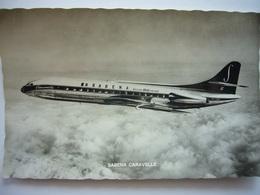 Avion / Airplane / SABENA / Caravelle - 1946-....: Era Moderna