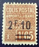 France 1926 Colis Postaux Apport à La Gare Surchargé Overprinted Yvert 53 (*) MNG - Mint/Hinged