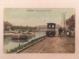 COURRIERES - TRACTION ELECTRIQUE DES BATEAUX 1910 - Lens
