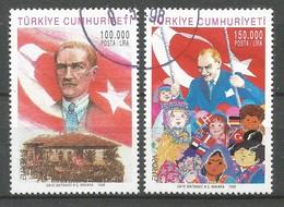 Türkei  1998  Mi.Nr. 3148 / 3149 , EUROPA CEPT - Nationale Feste Und Feiertage - Gestempelt / Fine Used / (o) - 1998