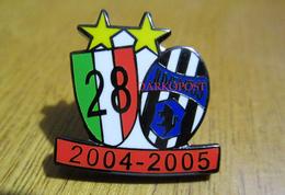 Juve 28° Scudetto Soccer Pins Torino BiancoNero Calcio Football Juventus - Calcio