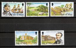Isle Of Man 1980 Manx Pioneers, 5 Values   Mi 173-177   MNH - Isola Di Man